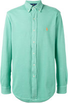 Ralph Lauren embroidered logo shirt - men - Cotton - S