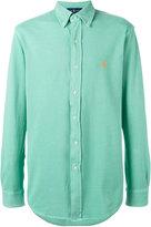 Ralph Lauren embroidered logo shirt - men - Cotton - XL