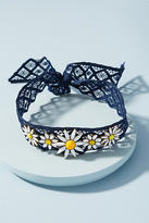 Elizabeth Cole Daisy Lace Choker Necklace