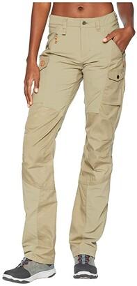 Fjallraven Nikka Curved Trousers (Savanna) Women's Casual Pants