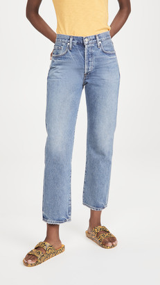 Gold Sign The Relaxed Straight Jeans