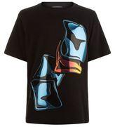 Christopher Kane Crash Hologram T-shirt