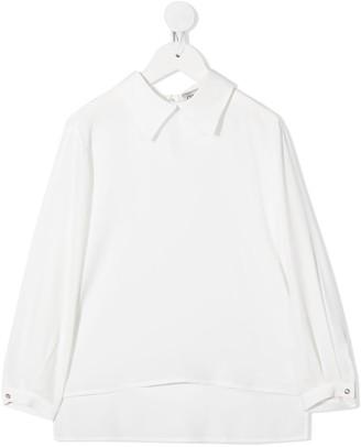 Simonetta High-Low Hem Shirt
