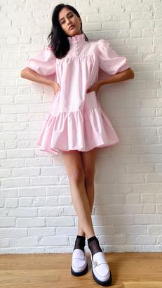 AVAVAV Mini Ruffle Short Sleeves Dress