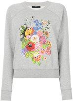 Diesel - floral-print sweatshirt -