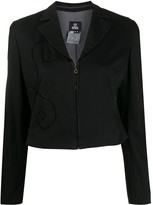 Versace Pre Owned 1990s applique detailed jacket