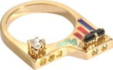 Maria Francesca Pepe Map Building Deco Ring