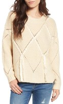 Moon River Diamond Knit Sweater