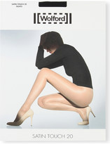 Wolford Satin touch 20 nylon-blend tights