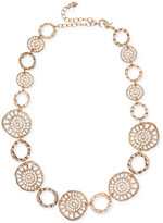 lonna & lilly Gold-Tone Coin Collar Necklace