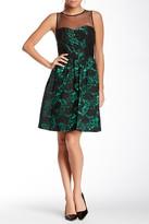 Decode 1.8 182791 Mesh Floral Lace Detail Dress