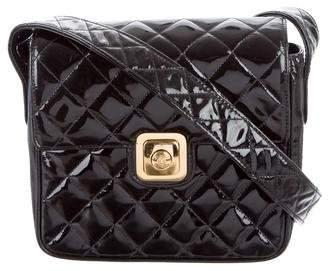 Chanel Patent Quilted Shoulder Bag