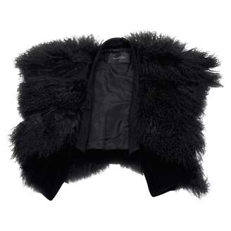 Thakoon Black Fur Jackets