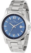 Lucien Piccard Men's 10048-33 Breithorn Textured Dial Stainless Steel Watch