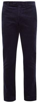 Polo Ralph Lauren Cotton Corduroy Slim Fit Chino Trousers - Mens - Navy
