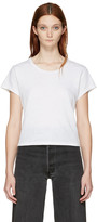 RE/DONE White 1950's Boxy T-Shirt