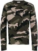 Valentino VLTN Camouflage sweater