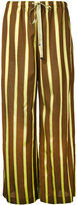 ASTRAET striped trousers - women - Acetate - 1