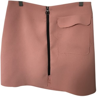 Topshop Tophop Pink Skirt for Women