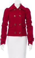 Rachel Zoe Wool Short Coat