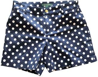 Lauren Ralph Lauren Blue Cotton - elasthane Shorts for Women