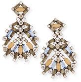 Dannijo Accessories Bavaria Crystal Statement Earrings, Multi