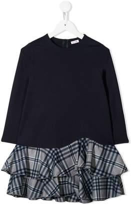 Il Gufo contrast-skirt dress