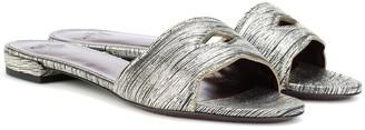 Bougeotte Leather slides