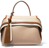 Tod's Wave Small Leather Tote - Beige