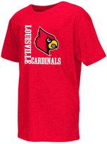 Colosseum Boys' Louisville Cardinals Trek Print T-Shirt