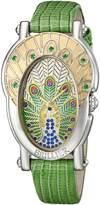 Brillier Women's 19-02 Gr Royal Plume Analog Display Swiss Quartz Watch