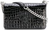 Versace Medusa embossed shoulder bag