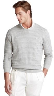 Polo Ralph Lauren Men's Fair Isle Cotton Sweater