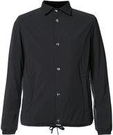 Herno drawstring hem buttoned jacket
