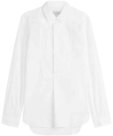 Maison Margiela White Cotton Button-Down