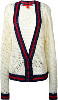 Hilfiger Collection v-neck corporate cardigan