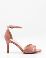 Le Château Criss-Cross Ankle Strap Sandal
