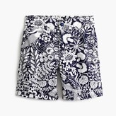 J.Crew Boys' snap-front board short in mermaid floral
