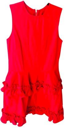 J Brand X Simone Rocha Red Denim - Jeans Dresses
