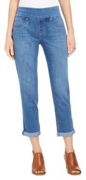 Style&Co. Style & Co Petite Ella Cuffed Boyfriend Jeans, Created for Macy's