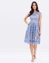 Lipsy VIP Cornflower Lace Dress