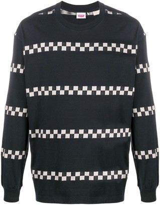 Levi's Made & Crafted Plaid Trim Jumper
