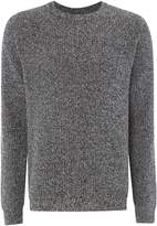 Paul Smith Men's Lambswool cable knit crew neck jumper