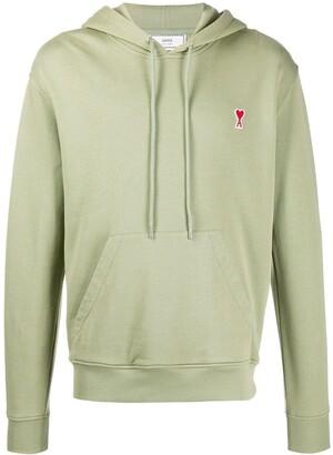 Ami De Coeur patch hoodie