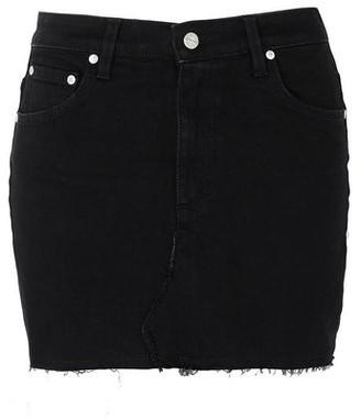 Represent Denim skirt