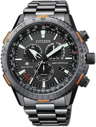 Citizen Eco-Drive Stainless Steel Chronograph Watch