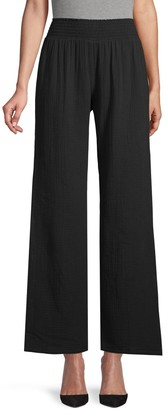 Supply & Demand Wide-Leg Cotton Pants