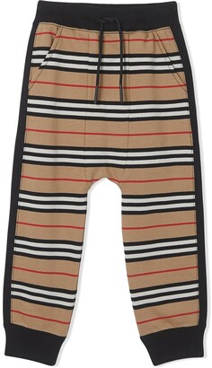 Burberry TEEN Icon Stripe track trousers
