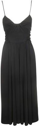 MSGM A-line Midi Dress