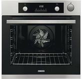Zanussi ZOS37972XK Built-In Single Electric Oven, Stainless Steel